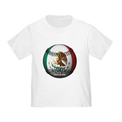 Mexican Baseball Toddler T-Shirt