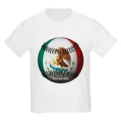 Mexican Baseball Youth T-Shirt by Hanes