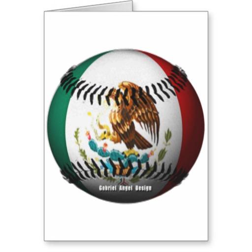 Mexico Baseball Greeting Card