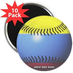 """Colombia Baseball 2.25"""" Magnet (10 pack)"""