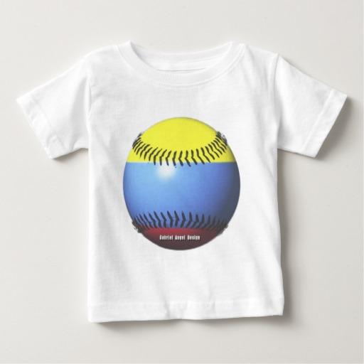 Colombia Baseball Baby Fine Jersey T-Shirt