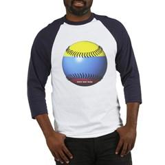 Colombia Baseball Baseball Jersey T-Shirt