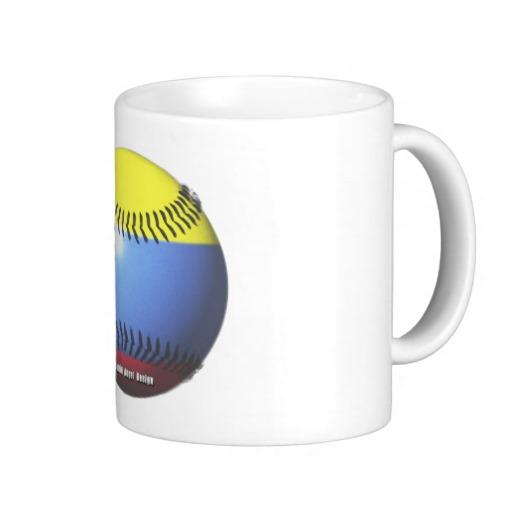 Colombia Baseball Classic White Mug