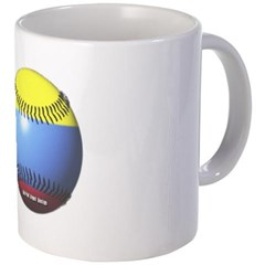 Colombia Baseball Coffee Mug