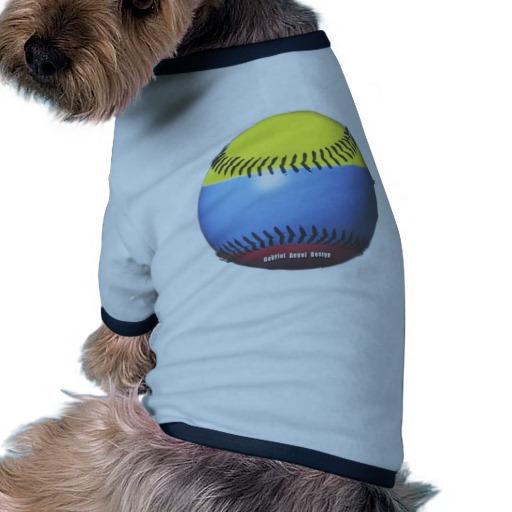 Colombia Baseball Doggie Ringer T-Shirt