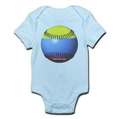 Colombia Baseball Infant Bodysuit