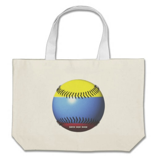 Colombia Baseball Jumbo Tote