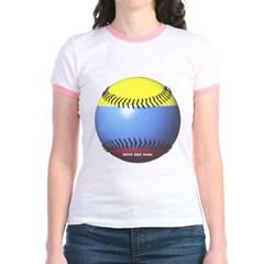 Colombia Baseball Junior Ringer T-Shirt