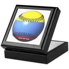 Colombia Baseball Keepsake Box