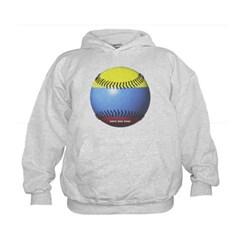 Colombia Baseball Kids Sweatshirt by Hanes