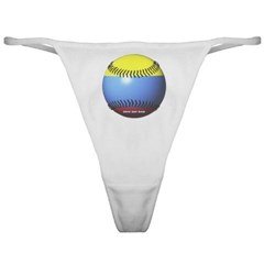 Colombia Baseball Ladies Thong Underwear
