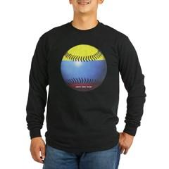 Colombia Baseball Long Sleeve Dark T-Shirt