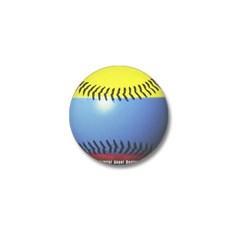 Colombia Baseball Mini Button
