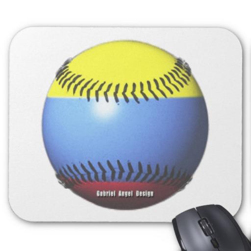Colombia Baseball Mousepad