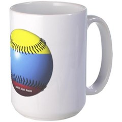 Colombia Baseball Mug