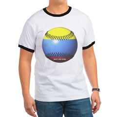 Colombia Baseball Ringer T-Shirt