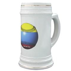 Colombia Baseball Stein