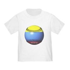 Colombia Baseball Toddler T-Shirt