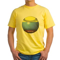 Colombia Baseball Yellow T-Shirt