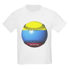 Colombia Baseball Youth T-Shirt by Hanes