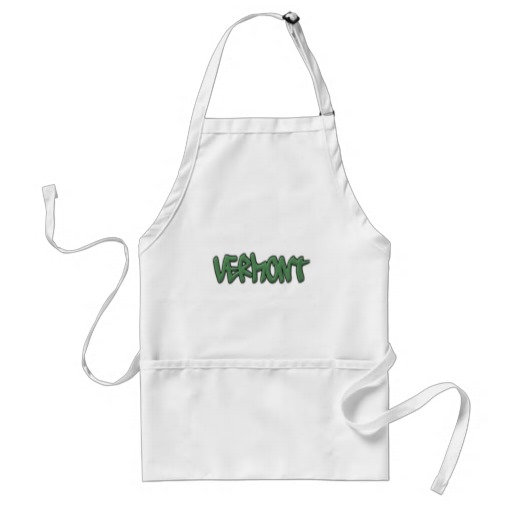 Vermont Graffiti Adult Apron