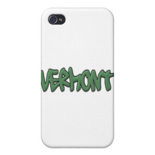 Vermont Graffiti Case Savvy iPhone 4 Matte Finish Case
