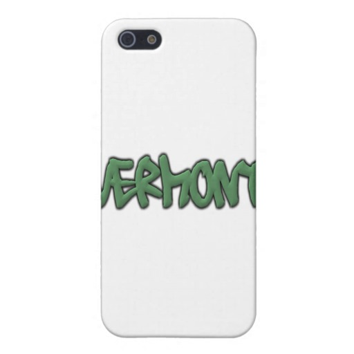 Vermont Graffiti Case Savvy Matte Finish iPhone 5/5S Case