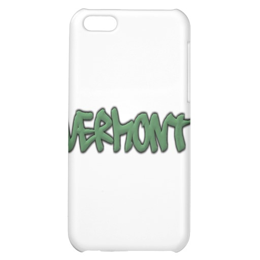 Vermont Graffiti Case Savvy Matte Finish iPhone 5C Case