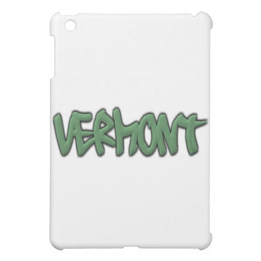 Vermont Graffiti iPad Mini Matte Finish Case