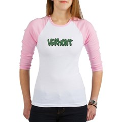 Vermont Graffiti Junior Raglan T-shirt