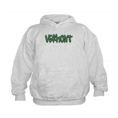 Vermont Graffiti Kids Sweatshirt by Hanes