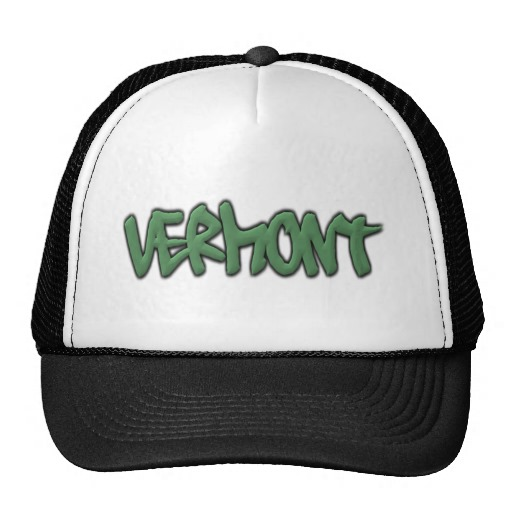 Vermont Graffiti Trucker Hat