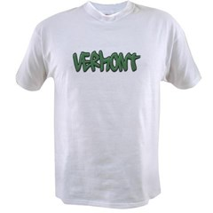 Vermont Graffiti Value T-shirt