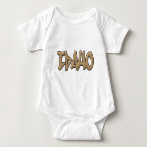 Idaho Graffiti Baby Jersey Bodysuit