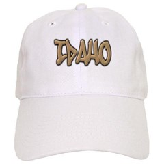 Idaho Graffiti Baseball Cap