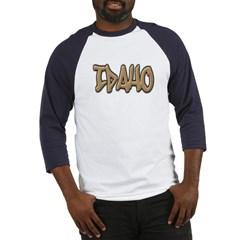 Idaho Graffiti Baseball Jersey T-Shirt