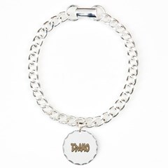 Idaho Graffiti Bracelet with Round Charm