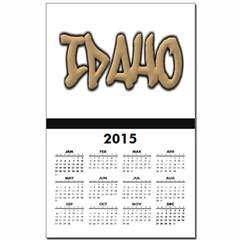 Idaho Graffiti Calendar Print