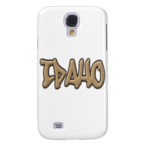 Idaho Graffiti Case-Mate Barely There Samsung Galaxy S4 Case