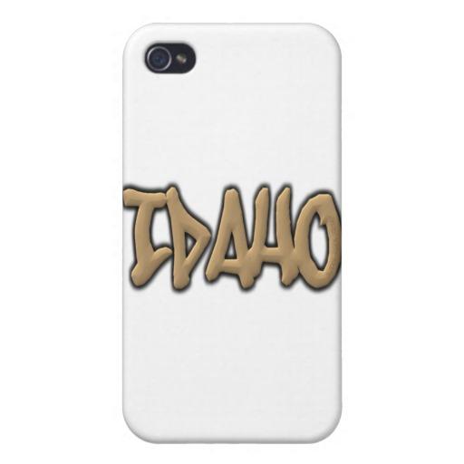 Idaho Graffiti Case Savvy iPhone 4 Matte Finish Case