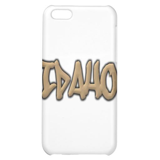 Idaho Graffiti Case Savvy Matte Finish iPhone 5C Case