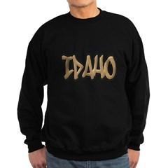 Idaho Graffiti Dark Sweatshirt