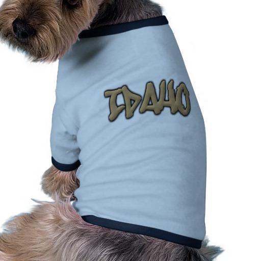 Idaho Graffiti Doggie Ringer T-Shirt