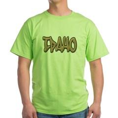 Idaho Graffiti Green T-Shirt