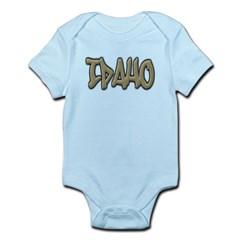 Idaho Graffiti Infant Bodysuit
