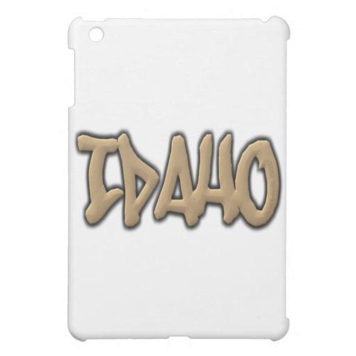 Idaho Graffiti iPad Mini Matte Finish Case