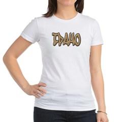 Idaho Graffiti Junior Jersey T-Shirt