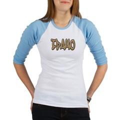 Idaho Graffiti Junior Raglan T-shirt
