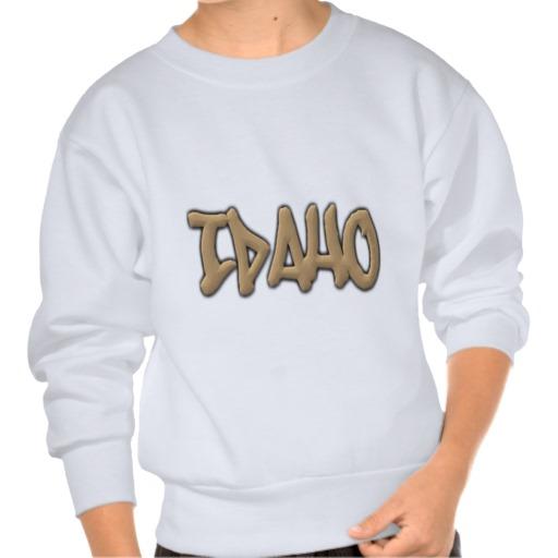 Idaho Graffiti Kids' Hanes ComfortBlend® Sweatshirt