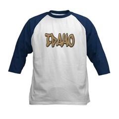 Idaho Graffiti Kids Baseball Jersey T-Shirt